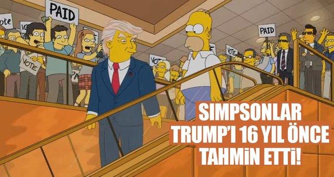 Simpson Donald Trump'ı 16 yıl önce tahmin etti
