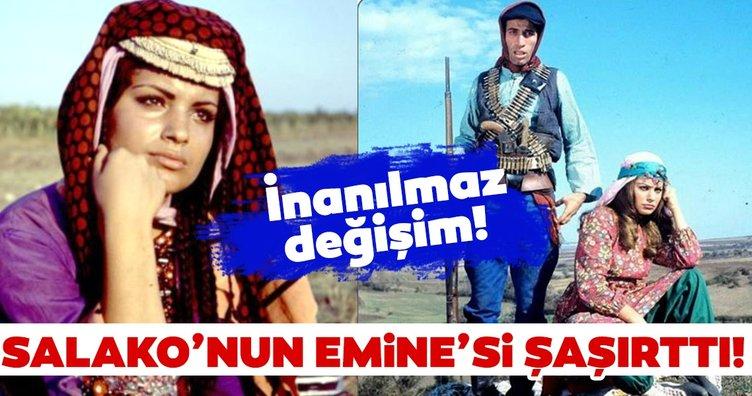 Salako'nun Emine'si Meral Zeren'i görenler tanıyamıyor