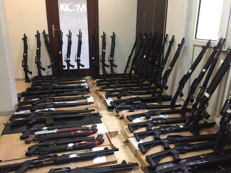 Kamyonette 63 av tüfeği ele geçirildi