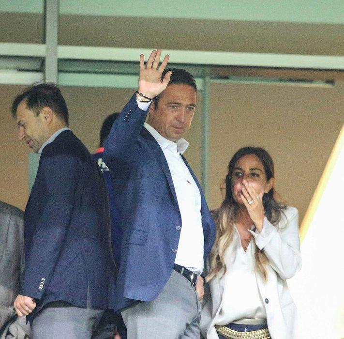Fenerbahçe Başkanı Ali Koç fena yakalandı!