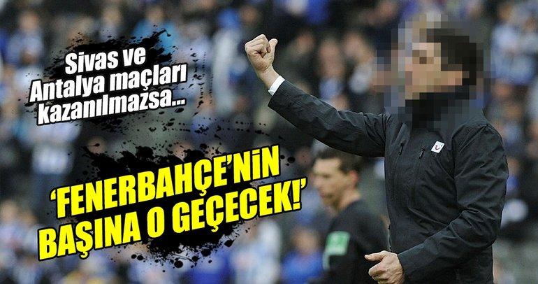 Fenerbahçe gizli teknik direktör görüşmesi...