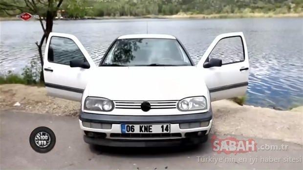 Eski kasa Volkswagen Golf'ünü ustalara bırakıp gitti! Geri geldiğinde manzara karşısında şoke oldu...