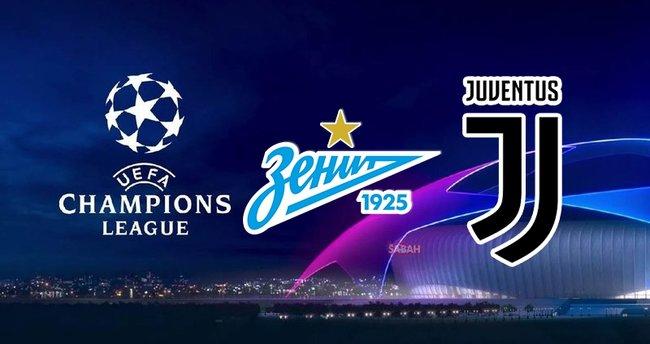 Zenit Juventus maçı hangi kanalda? UEFA Şampiyonlar Ligi Zenit Juventus maçı saat kaçta, şifresiz mi?