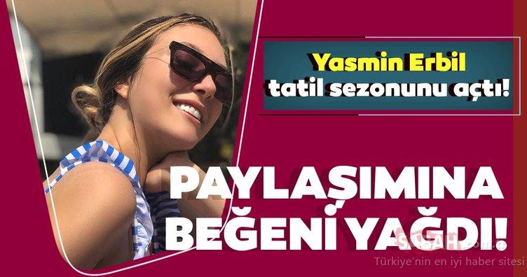 Yasmin Erbil bikinili paylaşım yaptı gelen eleştirilere kızdı! Mehmet Ali Erbil'in kızı Yasmin Erbil sezonu açtı!