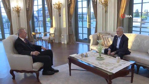 Başkan Erdoğan, Oğuzhan Asiltürk ile iftarda bir araya geldi   Video