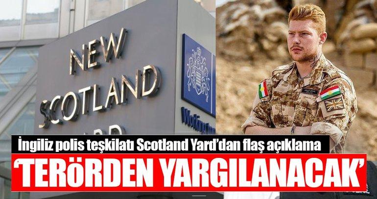 PYD/PKK'ya katılan İngiliz terörden yargılanacak