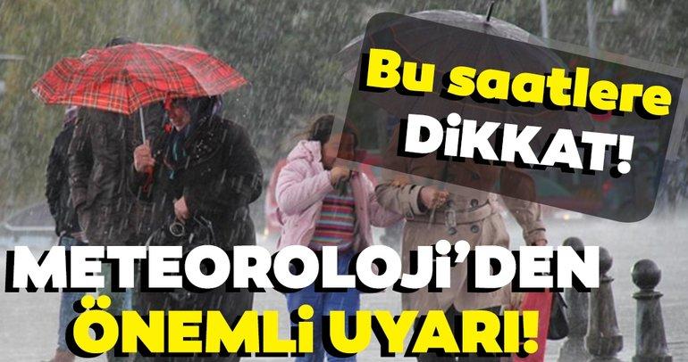 Son dakika: Meteoroloji'den önemli uyarı! Bugün hava nasıl olacak? (10 Eylül 2019)