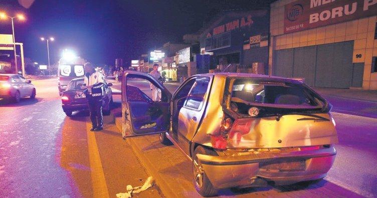 Zincirleme kaza: 2'si çocuk 4 yaralı