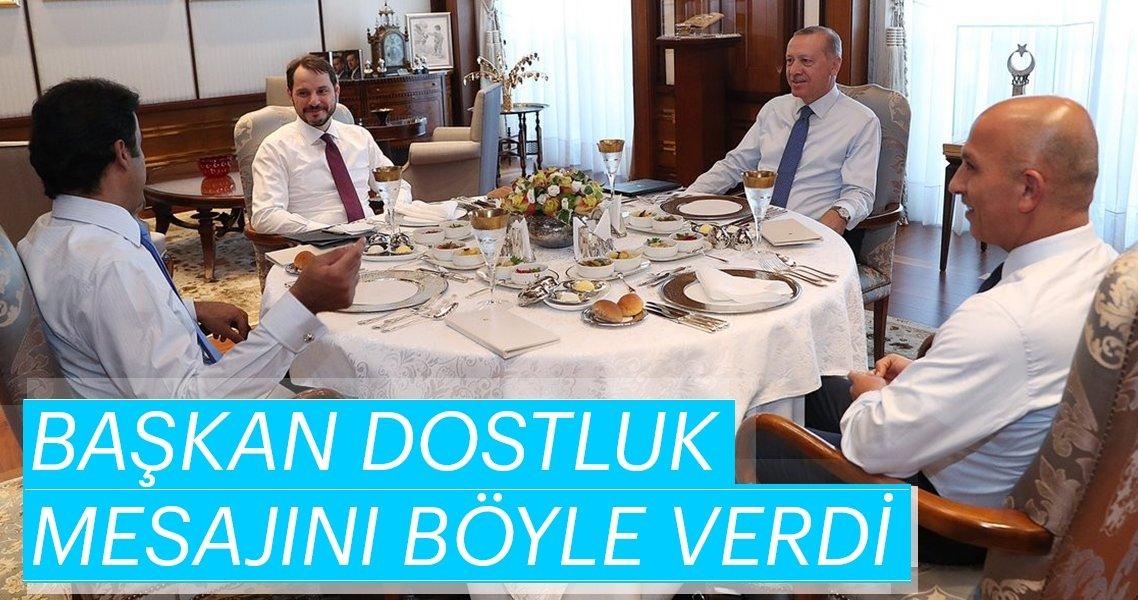 Başkan Erdoğan: Katar ile ilişkilerimiz güçlenerek devam edecek