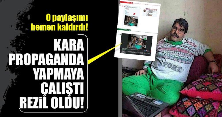 PYD/PKK elebaşlarından Salih Müslim kara propaganda yapmaya çalıştı, rezil oldu!