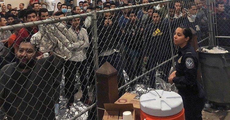 ABD'de 680 göçmen gözaltına alındı