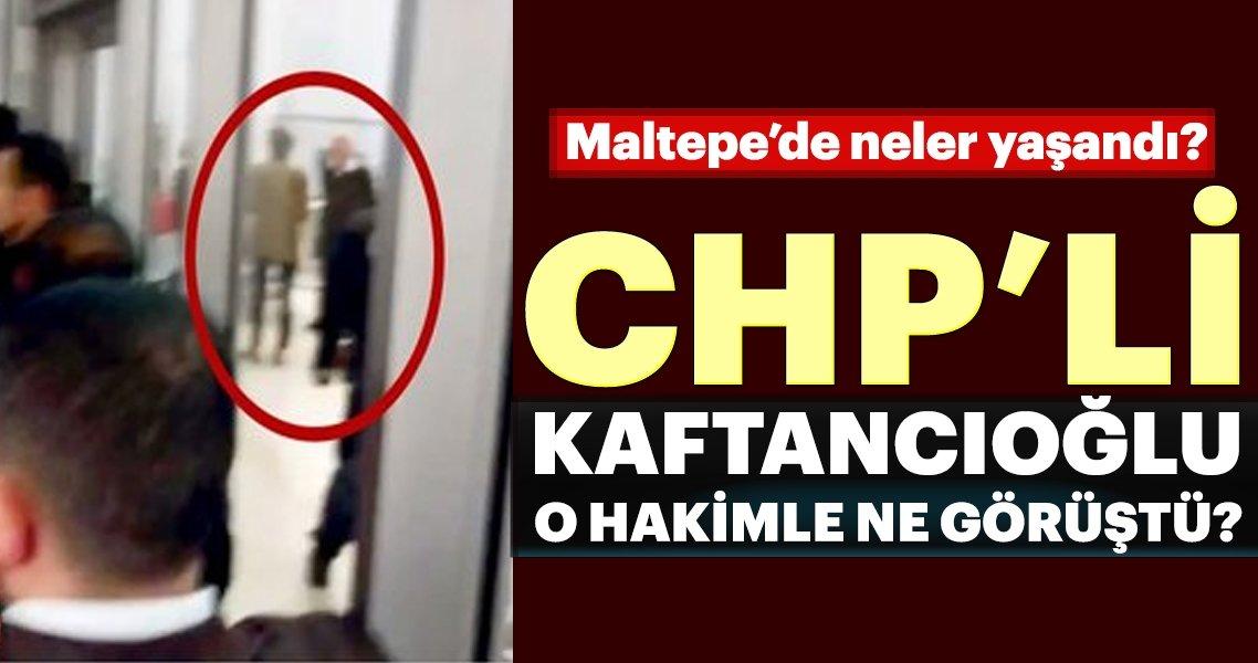 CHP'li Canan Kaftancıoğlu Hakim Süleyman Bayar ile baş başa ne görüştü