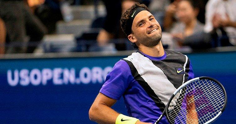Federer'i ABD Açık'ta Dmitrov durdurdu