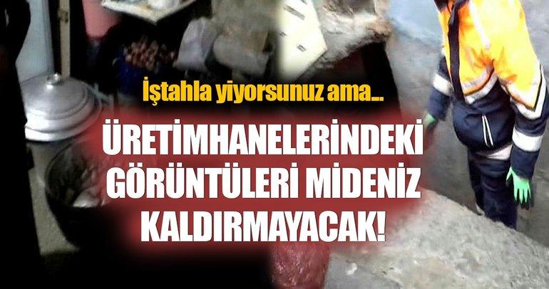 Beyoğlu'nda midye operasyonu