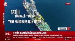 Son dakika! Bakan Dönmez'den flaş duyuru! Karadeniz Türkali-1 kuyusunda sondaja başlandı... | Video