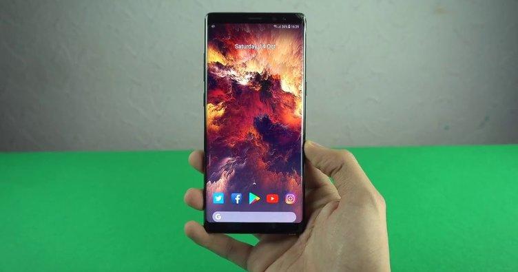 Galaxy Note 8'e Android 8.0 Oreo geldi!