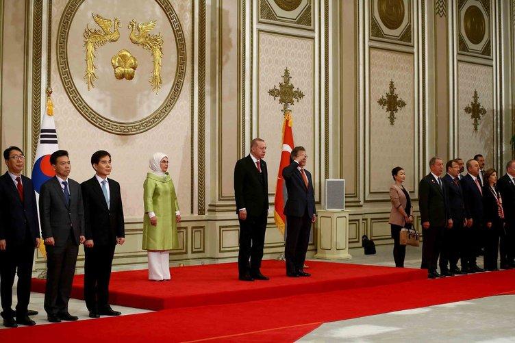 Türkiye ile Güney Kore'den ortak açıklama