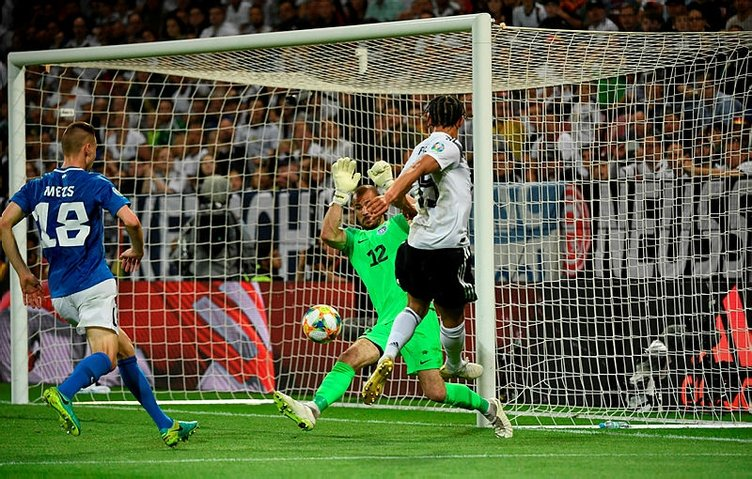 EURO 2020 Elemeleri'nde neler oldu? Almanya - Estonya maçında gol yağmuru!
