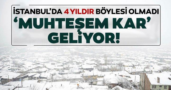 Son dakika haberi: Hava Tahmin Uzmanı gün vererek uyardı... İstanbul'da yoğun kar yağışı bekleniyor!
