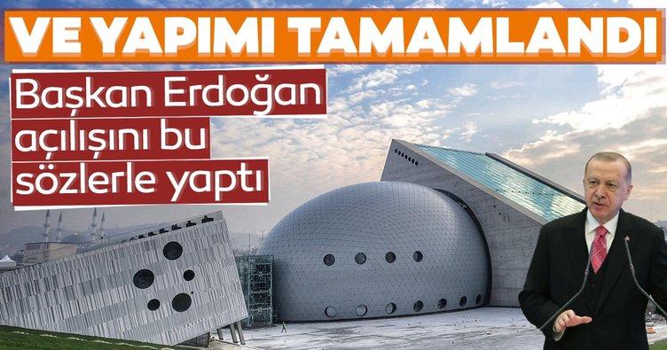 SON DAKİKA HABERLERİ - Başkan Erdoğan CSO konser salonu açılışını gerçekleştirdi!