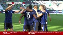 GOL | Werder Bremen 0-3 Hertha Berlin