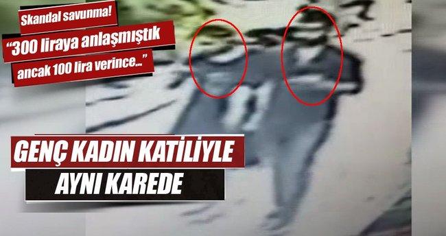 Faslı kadın katili ile birlikte kamerada