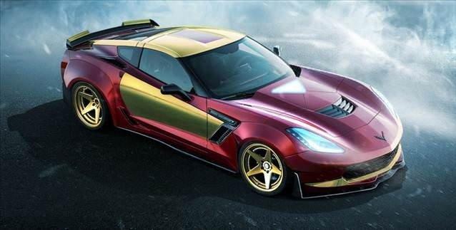 Süper kahraman otomobilleri
