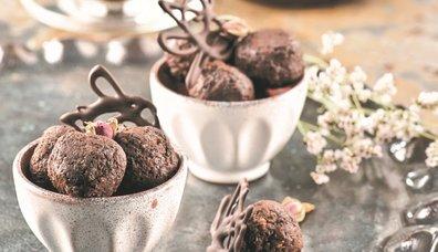 Kionalı Çikolata Topları