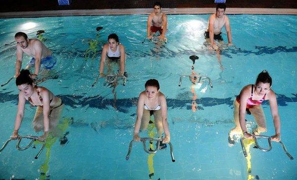 Hiç suda bisiklet sürdünüz mü?