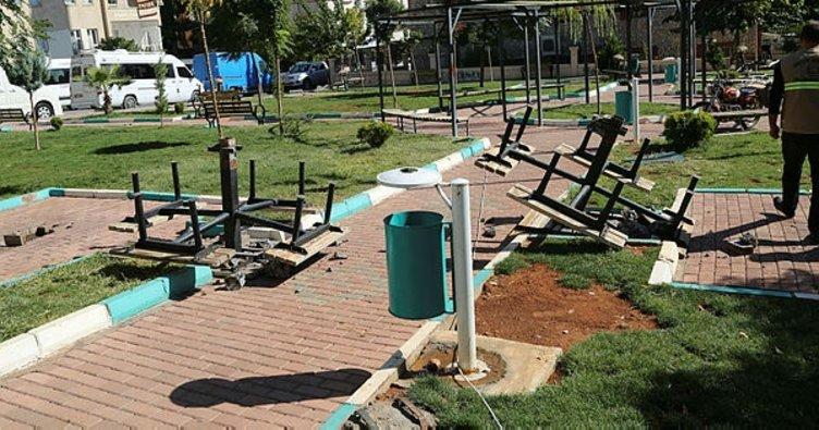 Haliliye Belediyesi parkları yeniliyor