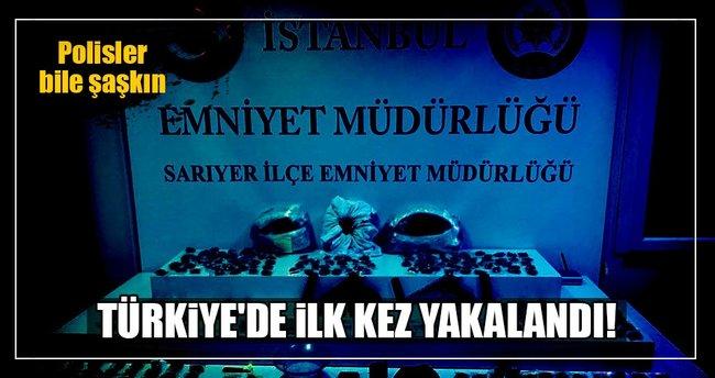 Türkiye'de ilk kez yakalandı!