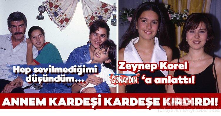 Bergüzar Korel'in ablası Zeynep Korel'den annesi Hülya Darcan ile ilgili çarpıcı sözler!