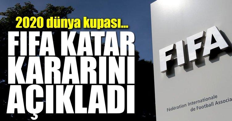 FIFA'dan flaş Katar kararı