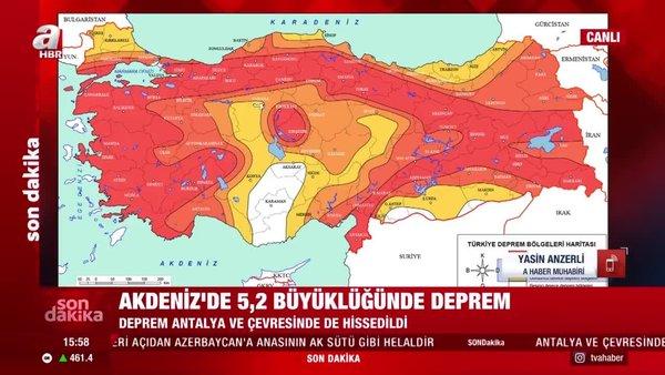 Son Dakika Haberleri   Antalya deprem ile sallandı! AFAD ve Kandilli Rasathanesi son depremler listesi yayınlandı   Video