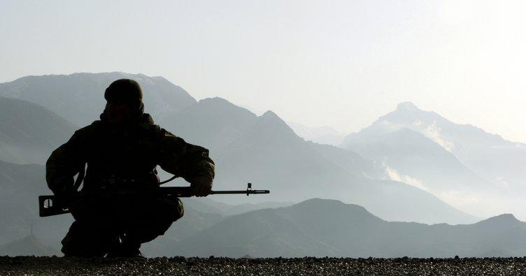 Erzurum'da çatışma: 1 terörist öldürüldü, 1 astsubay yaralı