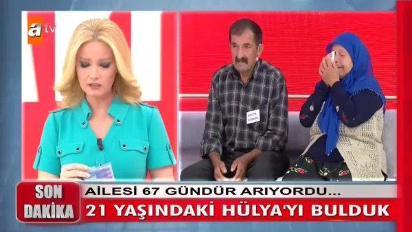 Müge Anlı'da canlı yayında gözyaşları sel oldu! 21 yaşındaki Hülya'dan flaş haber  | Video