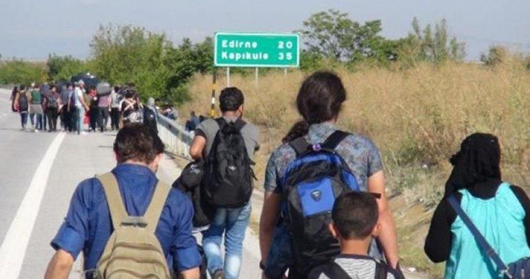 Edirne'de 379 kaçak ve sığınmacı yakalandı
