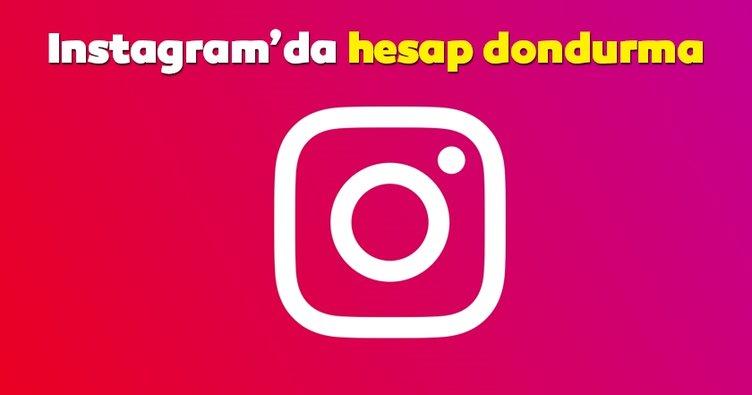 Instagram dondurma işlemi nasıl yapılır? 2019 Instagram hesap dondurma, kapatma ve silme linki