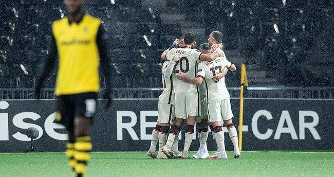 Young Boys 1-2 Roma   MAÇ SONUCU