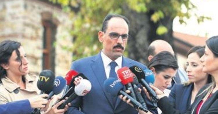 'Beklentimiz İdlib'de statünün korunması'
