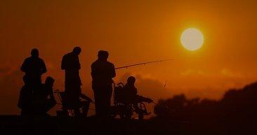 Düzce'de gün batımı