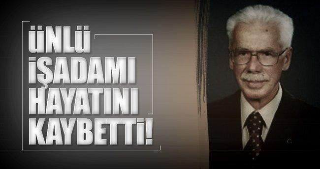 Eyüp Sabri Tuncer Kolonyaları'nın sahibi Sabahattin Tuncer vefat etti