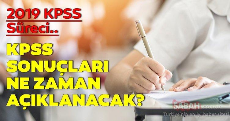KPSS sınav sonuçları ne zaman, hangi tarihte açıklanacak? 2019 KPSS sonuçları nasıl, nereden sorgulanır?