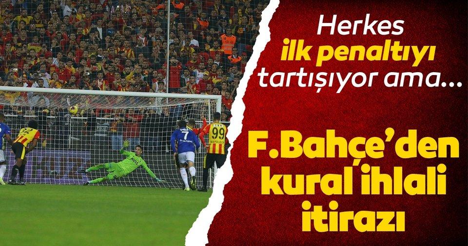 Göztepe-Fenerbahçe maçında kural ihlali iddiası