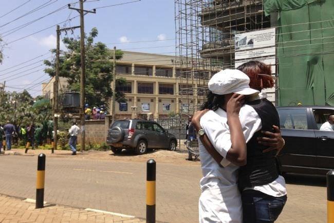 Kenya'da alışveriş merkezine saldırı