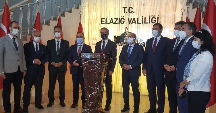 Savunma Sanayii Başkanı Prof. Dr. İsmail Demir Elazığ'da