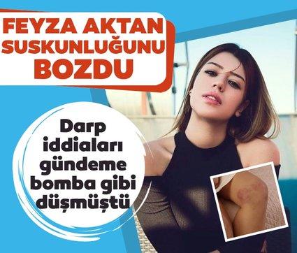 Feyza Aktan'dan şiddet iddialarına yanıt: Ne bir darp raporu ne bir şikayet var