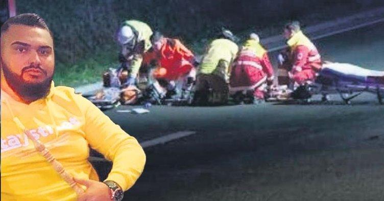 Ali Emre kaza kurbanı