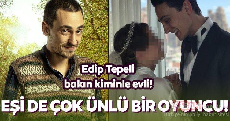 Sefirin Kızı'nın Kavruk Ömer'i Edip Tepeli'nin eşinin de çok ünlü bir oyuncu olduğunu biliyor musunuz?