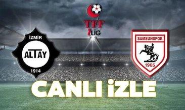 Altay Samsunspor maçı hangi kanalda canlı izlenecek, şifresiz mi?